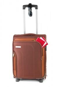Thai Woman Suitcase