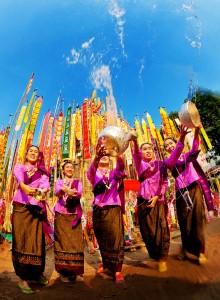 Thai Lady Songkran