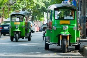 Tuk Tuk Drive In Bangkok